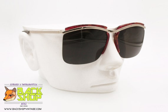 OAR mod. VANCOUVER M4/5 Vintage Sunglasses, half … - image 3