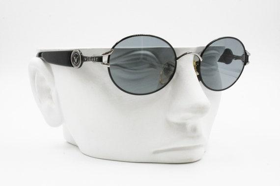 6e01596c8 Vogart by Police 3527 5554 Round Vintage Sunglasses Big logo | Etsy