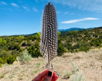 Cleansing Feather   Guinea Hen Feather Add-On for Cleansing Botanicals