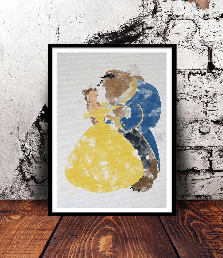 Fancy Beauty And The Beast Wall Decor Model - The Wall Art ...