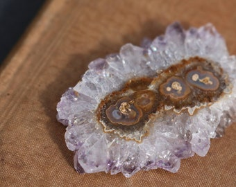 Lavender Amethyst Stalactite ~ Place in a window!
