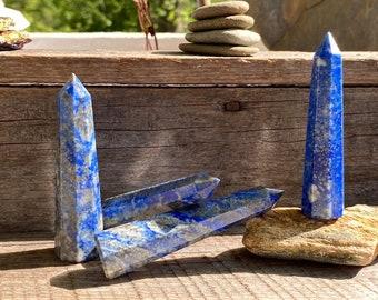 Lapis Lazuli Obelisks ~ Different Sizes Available