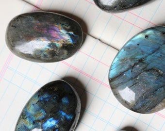 Labradorite Palm Stones ~ Many sizes in stock!