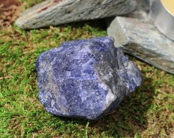 Raw Tanzanite Chunks in Many Sizes