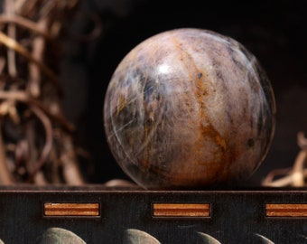 Black Moonstone Sphere 46mm