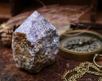 Lepidolite Point ~ The Calming Crystal