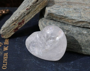Milky Quartz Crystal Heart Shaped Stones ~ Talisman!