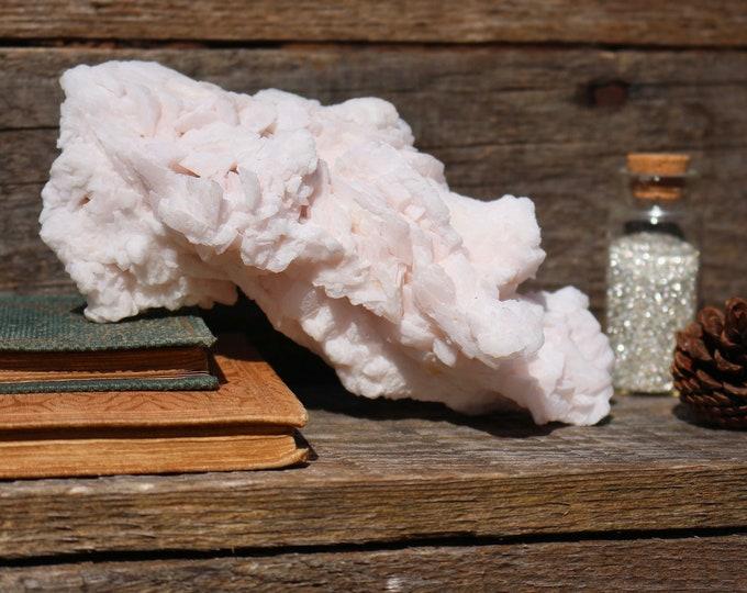 Featured listing image: Mangano Calcite Cluster ~ UV Light Reactive!