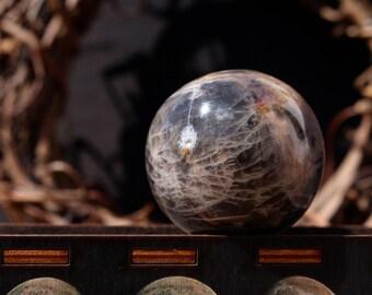 Black Moonstone Sphere 41mm