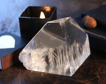 Clear Optical Calcite ~ Looks like a Glacier!