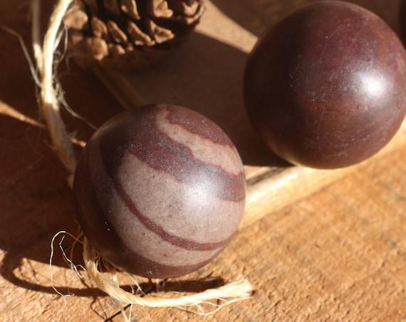 Shiva Lingam Sphere, Small Shiva Lingam Sphere, Shiva Lingam Crystal Ball, Sacred Sphere, Crystal Ball, Sacred Healing Crystal, Unisex Gift