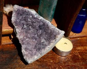 Standing Amethyst Geode