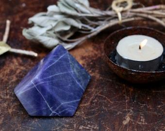 Purple Opal Freeform ~ aka Purple Sodalite