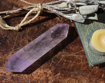 Extra Large Amethyst Wand from Uruguay