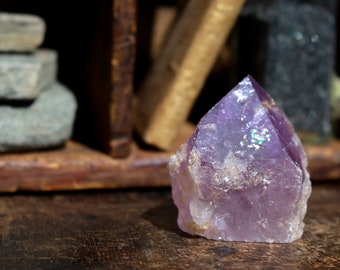 Amethyst Point ~ Grape Jelly Color