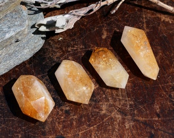 Double Terminated Citrine Points ~ Choice of 4
