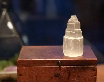 Small Selenite Towers ~ 2.5""