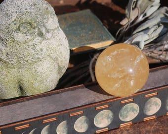 Honey Calcite Sphere 63mm