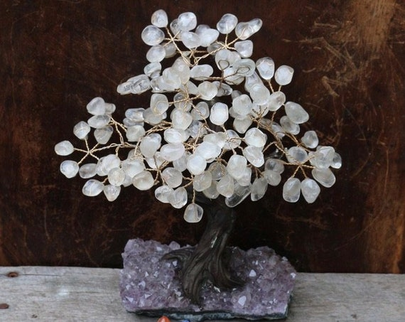 Large Crystal Bonsai Tree | Large Crystal Wishing Tree, Many Variations in Stock
