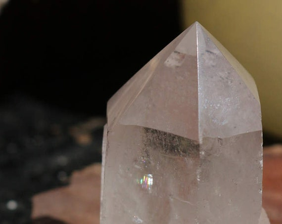 The Perfect Little Clear Quartz Crystal Point