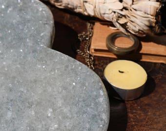 Lavender Amethyst Heart 3.25 lbs., Amethyst Druzy Covered Heart!