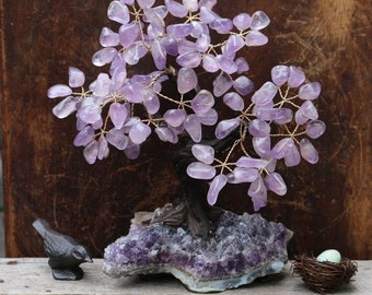Medium Crystal Bonsai Tree | Crystal Tree of Life | Crystal Wishing Tree ~ Many Varieties in Stock!