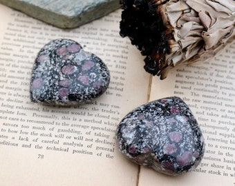 Ruby Spinel Hearts ~ one for you, two for you or...