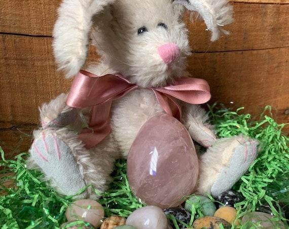 Large Rose Quartz Egg ~ For your Easter Basket!