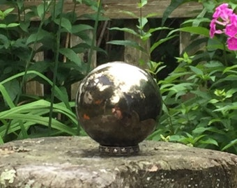 Pyrite Hematite Sphere 44mm