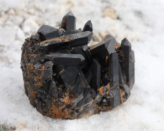 Large, Dark Smoky Quartz Cluster ~ Over 3 Pounds!