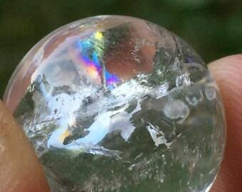 Mini Clear Quartz Crystal Ball ~ The Perfect Talisman
