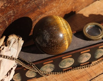 Large Tiger's Eye Sphere