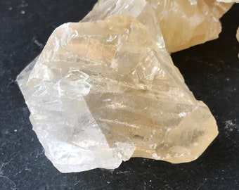 Large Honey Calcite Chunks