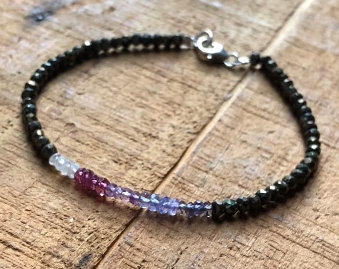 Ombré Gemstone Bracelet