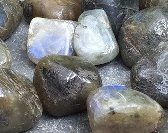 Polished Labradorite Pocket Stones