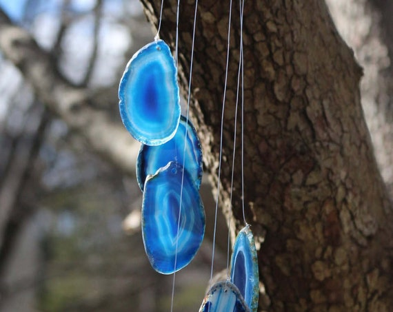 Agate Wind Chimes ~ Many colors available!