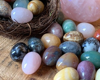 Small Crystal Easter Eggs Buy 6 get the 7th FREE