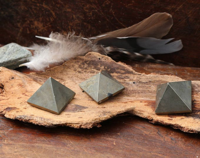 Miniature Pyrite Pyramids