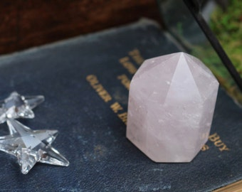 "Rose Quartz Polished Point ~ 2"" Tall"