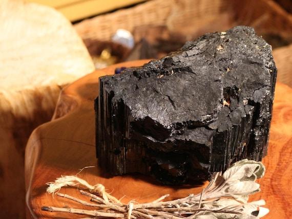 Extra Large Black Tourmaline Chunk, 7 lbs.