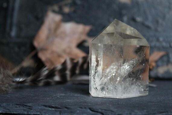 Citrine Crystal Point 95g, Medium Citrine Point, Polished Citrine Point, Citrine Healing Crystal, Natural Citrine Crystal, Healing Crystal