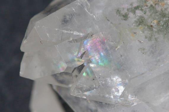 Clear Quartz Cluster 70g, Quartz Magic Wand, Raw Quartz Cluster, Small Crystal Cluster, Quartz Point, Healing Crystal, Crown Chakra Crystal