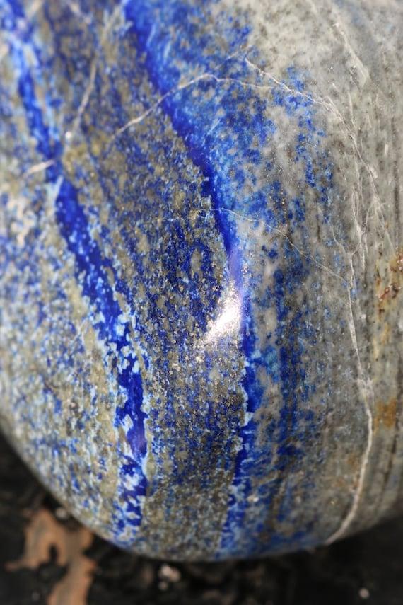 Large Lapis Lazuli Freeform, Polished Lapis Lazuli, Large Lapis Lazuli, Big Lapis Freeform, Crystal Home Decor, Yoga Studio, Gifts for Him