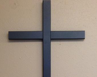LARGE roadside cross// memorial cross//  grave site cross// cemetery marker// cross// 549