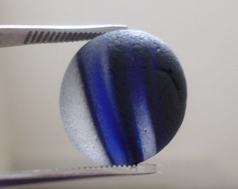 Collectors Blue Sea Glass, End of Day, Seaglass, Multi, Seaham, Beach Finds, English Sea Glass, Genuine Sea Glass, Sea Tumbled Glass, Black