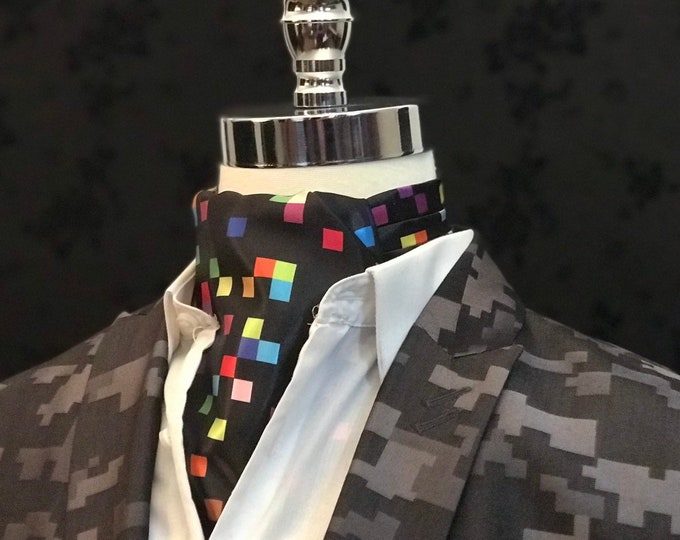 Featured listing image: Multicolor Pixelated Ascot