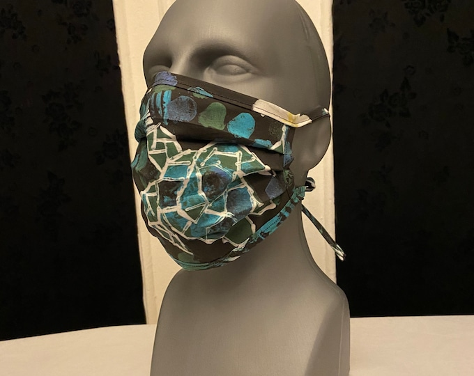 Turtle Print Face Mask