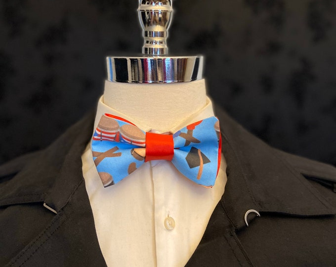 Puerto Rico Musical Instrument Bow Tie