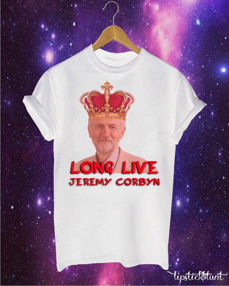 e88a2bb194 Long Live Jeremy Corbyn labour party inspired t-shirt Funny | Etsy