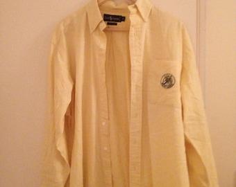 Very Rare Polo Ralph Lauren Cookie emblem oxford shirt f2f445e83b